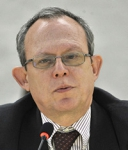 Frank La Rue, Special Rapporteur on the promotion and protection of the right to freedom of opinion and expression